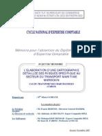 L'élaboration d'une cartographie détaillée des risques spécifique au secteur du transport maritime marocain. Cas du transport des marchandises CARGO