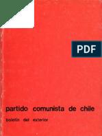 Boletín del Exterior Partido Comunista de Chile Nº24