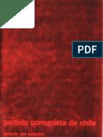 Boletín del Exterior Partido Comunista de Chile Nº25