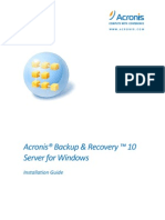 BackupRecoveryServerWindows Installationguide.en
