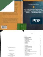 Manuale Di Dizione Voce e Respitazione