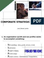 Corp Strategic Plan 01152005