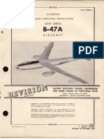 Handbook Flight Operating Instructions B-47A Aircraft (1950)