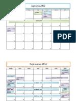 Kalender Event KBMJ PD UIN Jakarta 2012/2013
