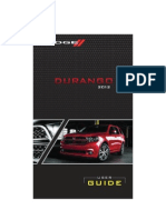 2012 Dodge Drungao User Guide