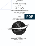 Pilot's Handook for the XB-35 Heavy Bombardment Airplane