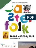 Castelfolk programma 2012