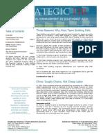 Strategic HR August 2012 Issue