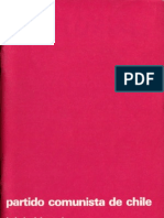 Boletín del Exterior Partido Comunista de Chile Nº31
