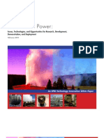 EPRI Geothermal WhitePaper