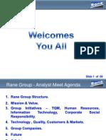 Rane Holdings Ltd 250610