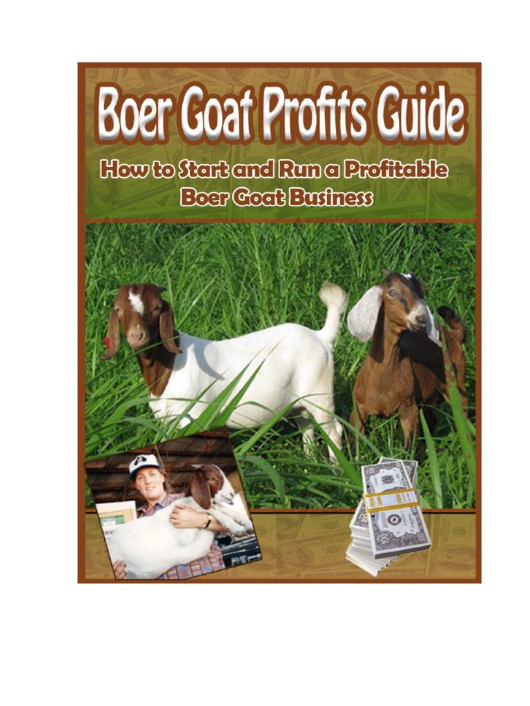 Boer Goat Profits Guide | Goat | Grazing