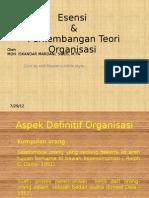 Esensi Organisasi