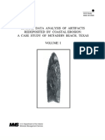 Analysis of Redeposited Artifacts McFaddin Beach Texas