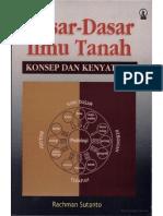 DASAR-DASAR ILMU TANAH- Konsep Dan Kenyataan Oleh Rachman Sutanto