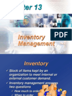 Chapter 13 Inventory Decision Self