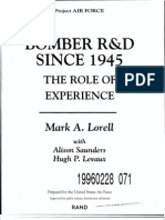 Mark A. Lorell - Bomber R & D Since 1945. The Role of Experience (1995)