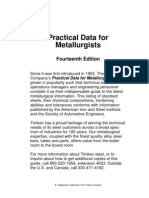 Practical Data for Metallurgists