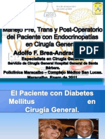 Conferencia de Diabetes y Cirugía.