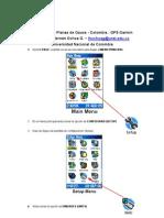 Coordenadas Planas Gauss - Colombia - Garmin - Luis Ochoa