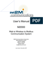 m2000 Users Manual