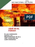 Extintores -Seguridad y Salud Ocupacional