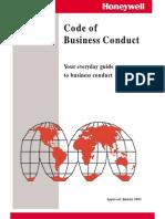 Honeywell - Code of Conduct