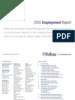 2010 Kellogg Employment Report Final