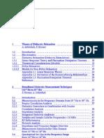 Dielectric Spectroscopy Friedrich Kremer- Andreas
