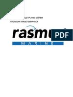 Rasmus 1 Radar Target - User Manual