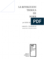 Althusser, L. - La revolución teórica de Marx [OCR]
