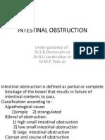 Ashok Intestinal Oostruction