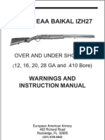 IZH 27 Manual