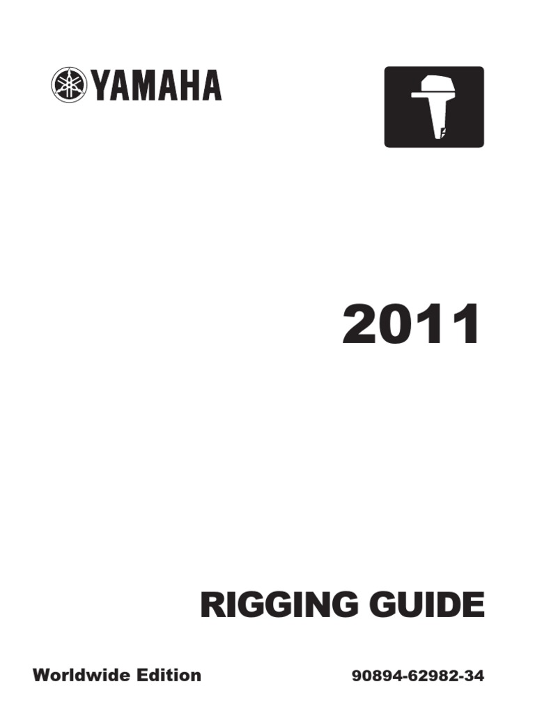 rigging guide yamaha outboard motors 2011 machines vehicle rh scribd com yamaha 5cmh 6e3k owner's manual