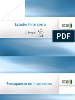 5.1 Estudio Financiero