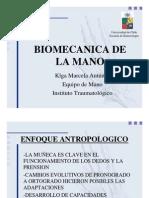 Biomecanica de La Mano