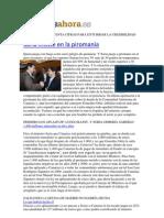 El Ministro Se Inventa Cifras Para Enturbiar La Credibilidad de Canarias