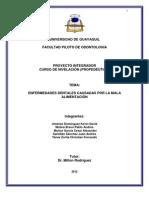 Proyecto Integrador-Enfermedades a Causa de Mala Alimentacion Parte 1