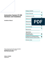 Automation System S7-400 Hardware and Installation
