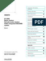 ET 200S Fail-Safe Motor Starters