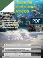 FRAGILIDAD DE LOS ECOSISTEMAS ACUÁTICOS