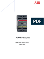 Pluto Safety PLC Operating Instructions Hardware