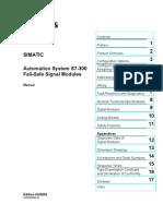 S7-300 - Fail-Safe Signal Modules