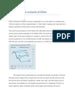 Macroeconomic Scenario of China