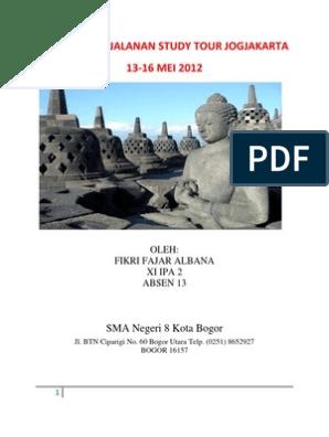 Karya Wisata Ke Jogja Wisata Alam Jawa