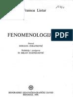 Zan-fransoa Liotar  Fenomenologija