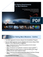 Stephenson 2012 Human Rating Mars Missions - Final Presentation