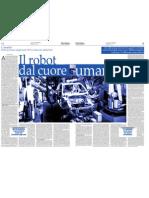 Il robot dal cuore umano