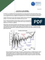 Berkeley Earth Press Release July 29