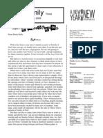 Jan 2009 Newsletter